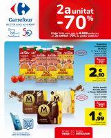 Portada Catálogo Carrefour Alimentació Cataluña
