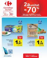 Portada Folleto Carrefour Market Cataluña