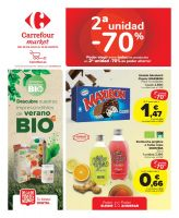 Portada Folleto Carrefour Market