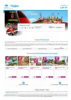 Portada Catálogo Viajes Carrefour Ofertas