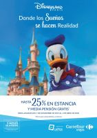 Portada Catálogo Viajes Carrefour