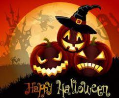 Logo Fiestas de  Halloween
