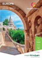 Portada Catálogo Viajes El Corte Inglés Europa