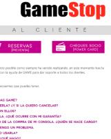 Portada Catálogo GameStop