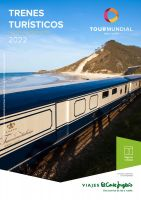 Portada Catálogo  Viajes El Corte Inglés Trenes