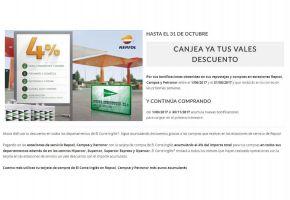 Portada Catálogo El Corte Inglés Carburantes