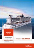 Portada Catálogo Halcón Viajes Cruceros