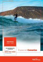 Portada Catálogo Halcón Viajes Canarias
