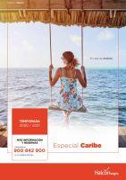 Portada Catálogo Halcón Viajes Caribe