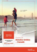 Portada Catálogo Halcón Viajes USA
