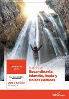 Portada Catálogo Halcón Viajes Escandinavia