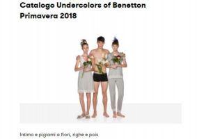 Portada Catálogo Benetton Underwear