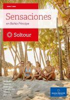Portada Catálogo Soltours Sensaciones
