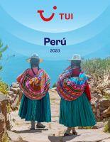 Portada Catálogo Tui Perú