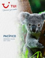 Portada Catálogo TUI Pacífico