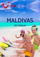 Portada Catálogo TUI Maldivas