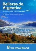 Portada Catálogo Barceló Viajes América Latina