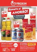 Portada Catálogo Proxim Supermercados