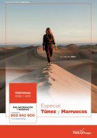Portada Catálogo Halcón Viajes Túnez