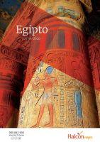 Portada Catálogo Halcón Viajes Egipto
