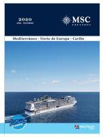 Portada Catálogo Nautalia Viajes MSC