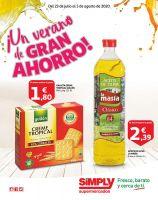 Portada Catálogo Simply Market Supermercados