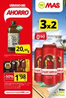 Portada Folleto Supermercados Mas