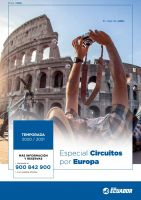 Portada Catálogo Viajes Ecuador Circuitos por Europa